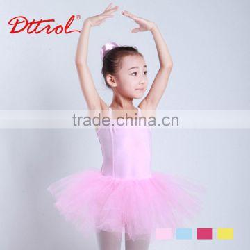 3f9cd88e8dfe New Style children camisole gymnastics leotards girls with ballet ...
