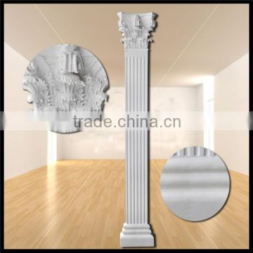 Frp Decoration Roman Column Pillar PU Home Decor Stage