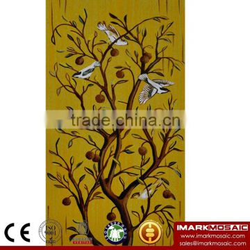 IMARK Traditional Bird Pattern Mosaic Mural/Mosaic Pattern Decorative Wall Tile/Mosaic Art For Wall Decoration