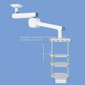 Ceiling Mount Double Arms Motorized Intensive Care Unit Medical Pendant
