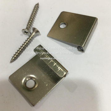 WPC decking  hidden fasteners outdoor flooring accessory