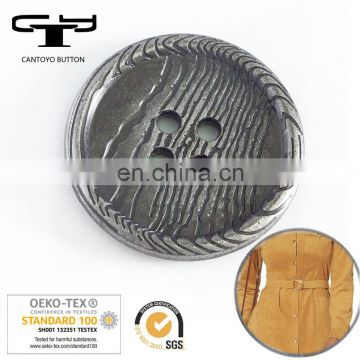 4-hole custom metal demins jeans button