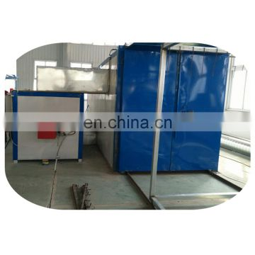 Excellent color powder coating line machine for aluminum windows and door