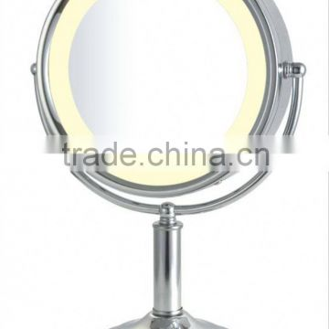CE CUL UL Bathroom jeweled compact lighted mirror