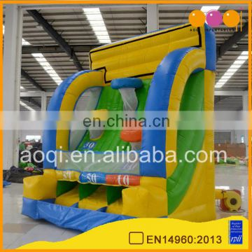 Funny inflatable basketball shoot game target inflatable basketball sport game for sale