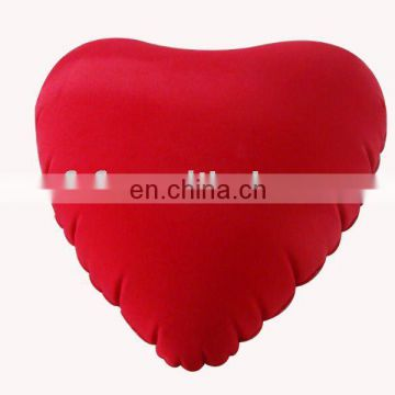 Inflatable Heart hold Pillow,Air back Cushion
