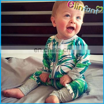 Whosale newborn baby sports colourful footie romper before opning jumpsuit