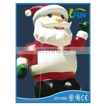 2014 best selling Christmas inflatable Santa Claus inflatable decorations/Santa Claus socks decoration/inflatable Santa Claus