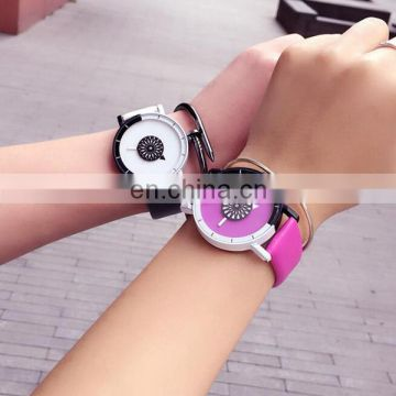 Colorful couple watch wrist watch new design fashion girls watch