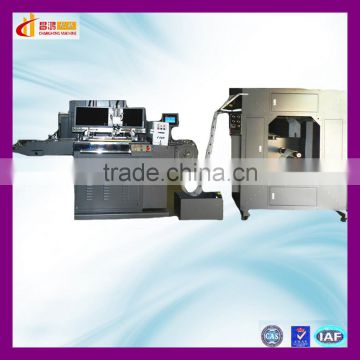 CH-320 plastic film label making and screen printing machine