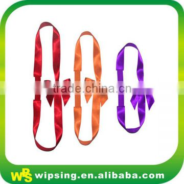 Wholesale Colored Satin Pre-tied Bows with Elastic Band