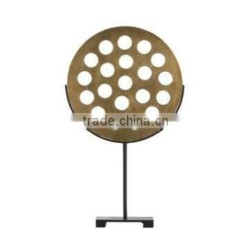 round wood fancy sculpture with stand