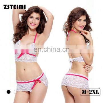 Zsteimi Reasonable Price Adult Lingerie Bra And Panty Female Sexy G String Teddy Lingerie