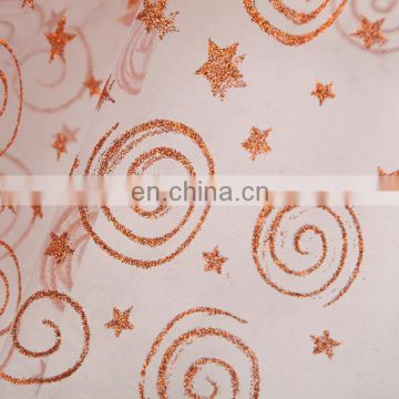 2015 Best Products For Import From China Fashion Dress Spraying Organza Curtain Fabric