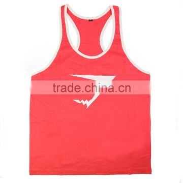 New Brand Gym Shark Singlets Mens Tank Tops Stringer Bodybuilding Equipment Fitness Men's GYM Tank Shirts Sports Clothes
