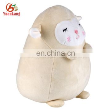 Wholesale Dongguan Yuankang Plush Round Shaped Ball Animal Cute sheep Toy