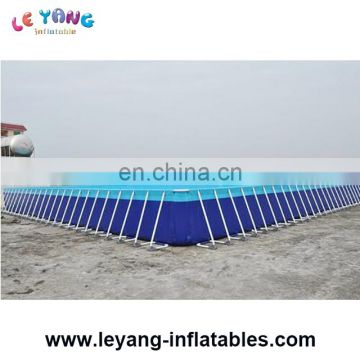 Custom Size Steel Frame Swimming Pool, Metal Frame Pool, Steel Frame Pool