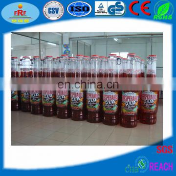 Inflatable bottle display rack for promotion
