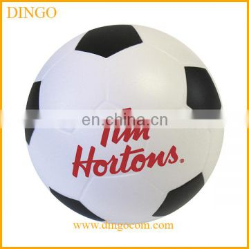 Hot selling custom soccer shaped stress ball