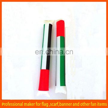 custom inflatable national flag bang bang stick