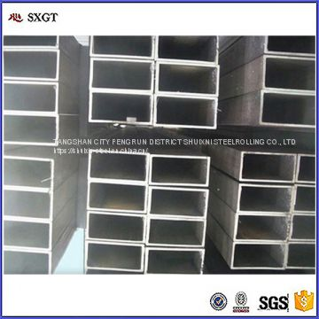 SS400 black steel A53 steel pipe Q195 rectangle steel tube