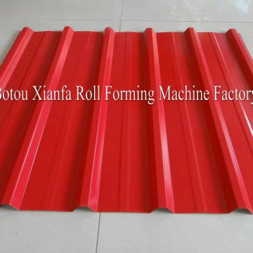 Iron Trapezoidal Roof Tile Roll Forming Machine