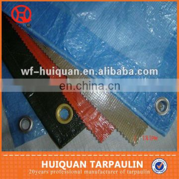 100% polyester fabric PE coated water repellent tarpaulin pe tarpaulin