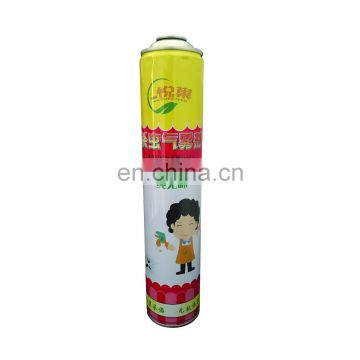 empty aerosol can for insecticide and aerosol canister Hebei products