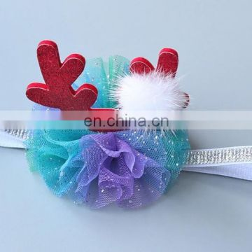 2017 Trendy little girls baby headband cute christams headband