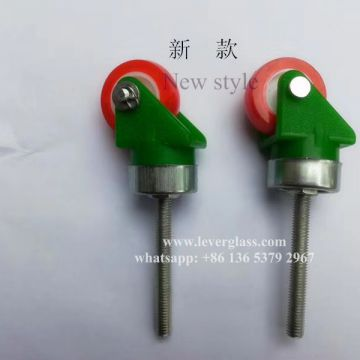 Universal Wheel Caster for glass loading