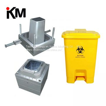 injection plastic dustbin mould