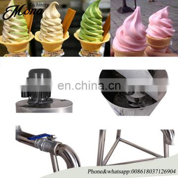 Top Quality ice cream puffed machine made in China