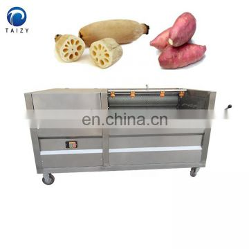 vegetable cleaner taro radish carrot peeling machine ginger washer machine