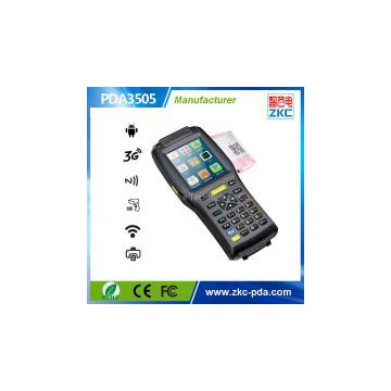 Android Handheld device with printer and 2D barcode support WIFI,GPS PDA