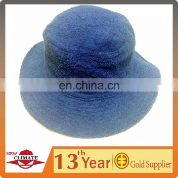Men's terry towel bucket hat