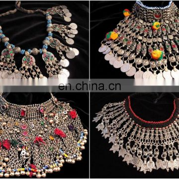 Afghan silver kuchi necklace ethnic tribal jewelry vintage kochi afghan silver kuchi necklace ethnic tribal jewelry vintage kochi necklace vintage coin afghan aloadofball Images