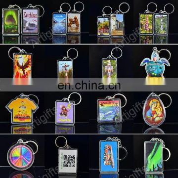 Souvenir Metal Custom Keychain Manufacturers In China, Make Your Own Logo Metal Key Chain Parts