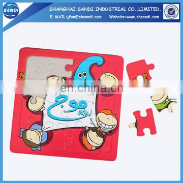 Promotional full color printed custom paper puzzle