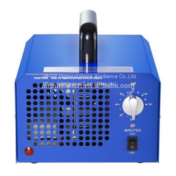 Common ozone generator 7000mg manual adjusted ozone with UV light sterilizing