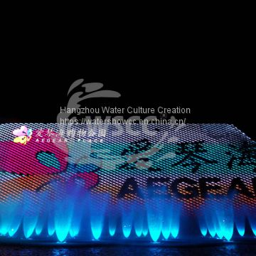 Fountain show musioc dancing fountian LED show fire show in the river or lake or near shopping mall
