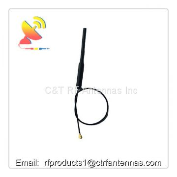 Indoor & Outdoor antenna Copper Tube Antenna Omni WiFi Aerial Ipex Cable 2.4Ghz 3dBi RF Antenna