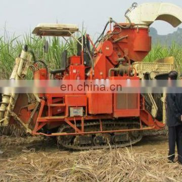 combined sugar cane harvest with aircondition