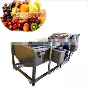 Taizy bubble type vegetable washer/industrial vegetable washing machine/cherry washing machine