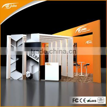 Aluminium customized trade show booth exhibit display / Standard Exhibition Display Stand (FD210 )