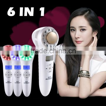 Hair Removal Home Use 6 In 1 Wrinkles Acne Vascular Lesions Removal Removal Hot And Cold Ion IPL Facial Beauty Device Age Spot Removal