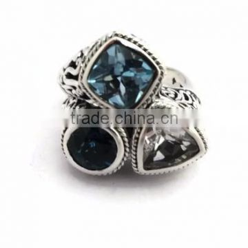925 Silver Gemstone Rings