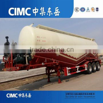CIMC China Bulker Cement Carrier Transportation Truck Trailer