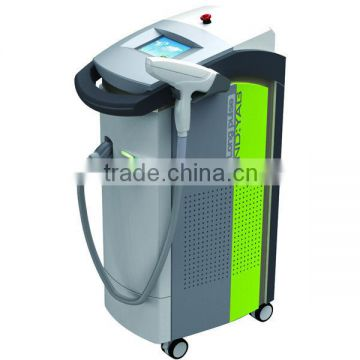 Tanned skin hair removal and varicose veins laser treatment machine beauty care face out by shanghai apolo