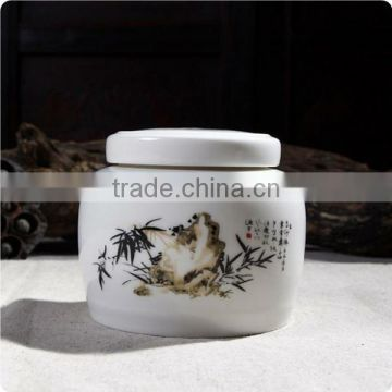 Ceramic cremation ashes small size pet urn