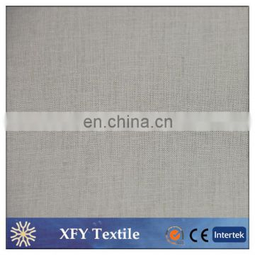 XFY wholesale dyed linen cotton fabric